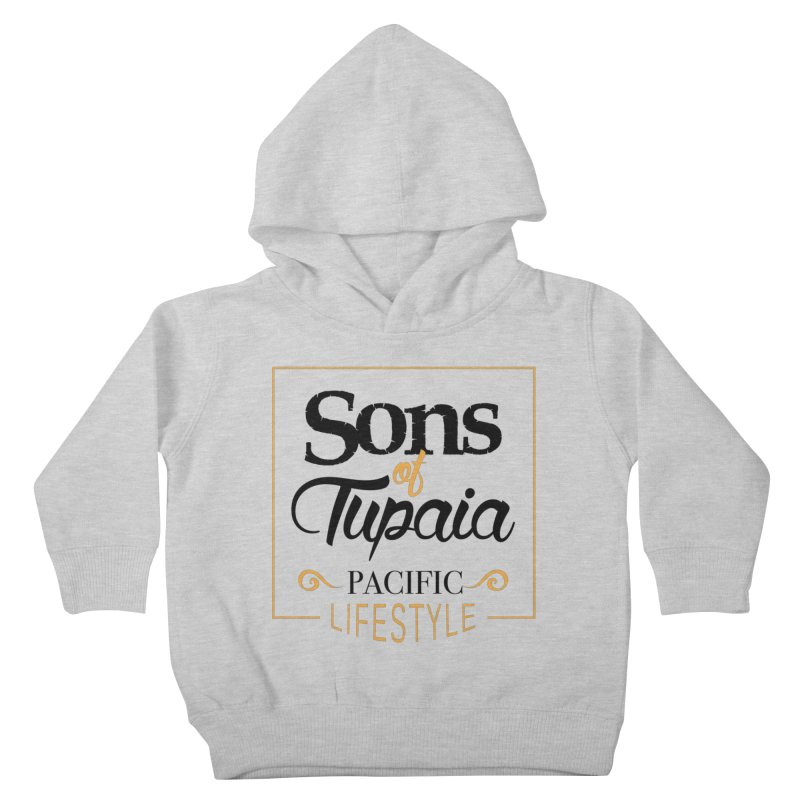Sons of Tupaia Kids Toddler Pullover Hoody by Pacificans' Artist Shop