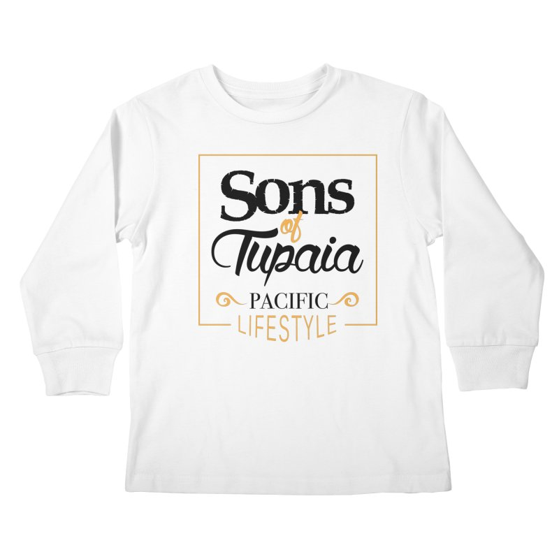 Sons of Tupaia Kids Longsleeve T-Shirt by Pacificans' Artist Shop