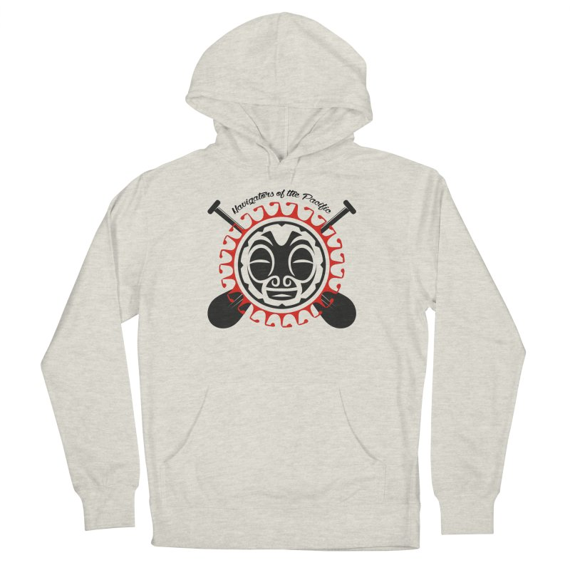 Navigators of the Pacific Men's French Terry Pullover Hoody by Pacificans' Artist Shop