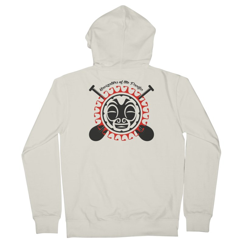 Navigators of the Pacific Men's French Terry Zip-Up Hoody by Pacificans' Artist Shop