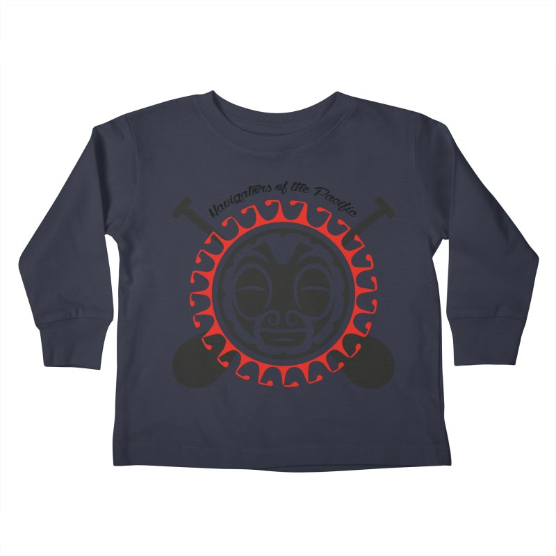 Navigators of the Pacific Kids Toddler Longsleeve T-Shirt by Pacificans' Artist Shop