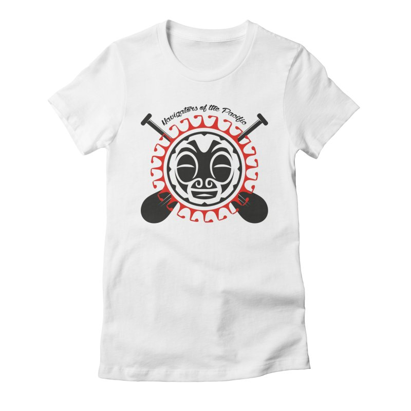Navigators of the Pacific Women's Fitted T-Shirt by Pacificans' Artist Shop