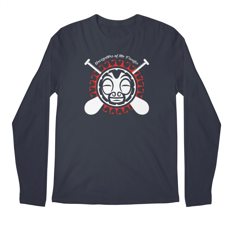 Navigators of the Pacific WH Men's Regular Longsleeve T-Shirt by Pacificans' Artist Shop