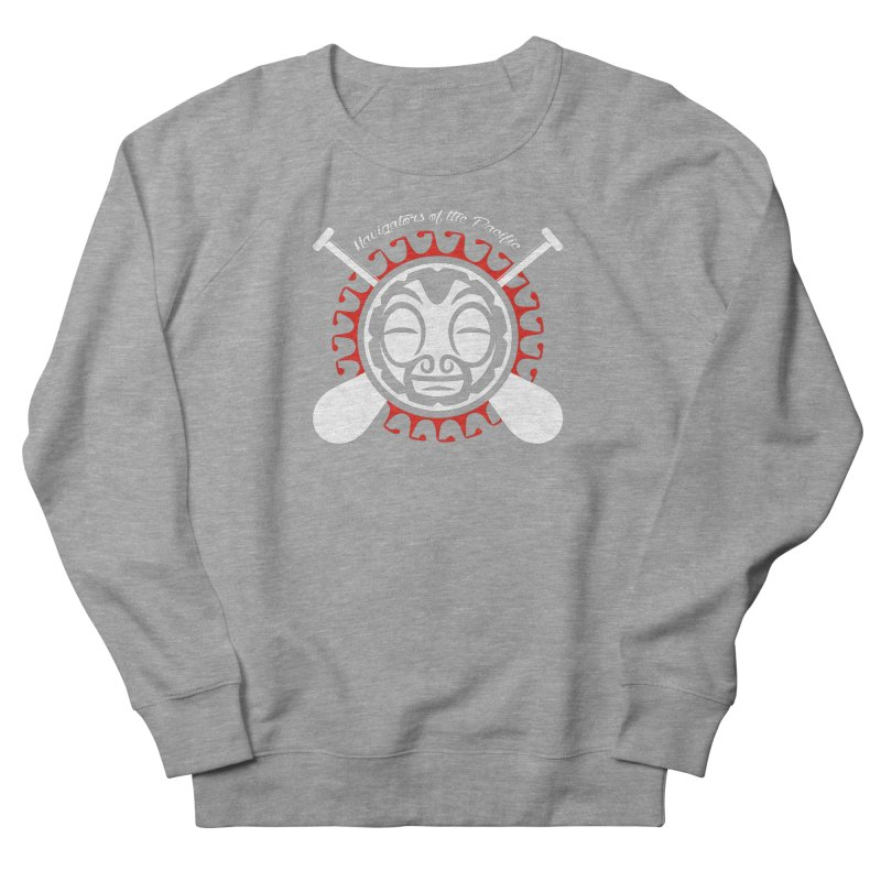 Navigators of the Pacific WH Women's French Terry Sweatshirt by Pacificans' Artist Shop