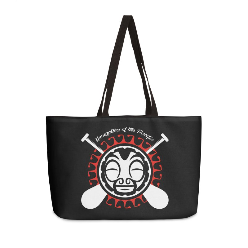 Navigators of the Pacific WH Accessories Weekender Bag Bag by Pacificans' Artist Shop