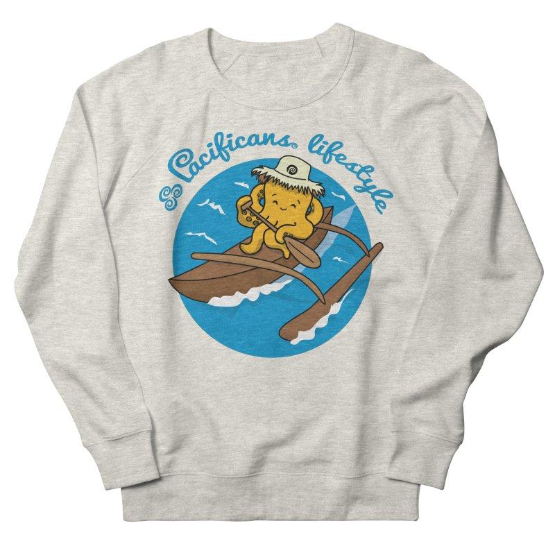 Heke va'a Women's Sweatshirt by Pacificans' Artist Shop