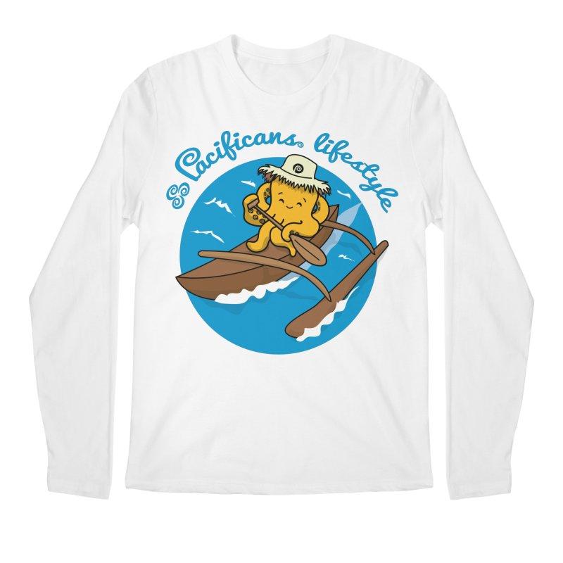 Heke va'a Men's Longsleeve T-Shirt by Pacificans' Artist Shop