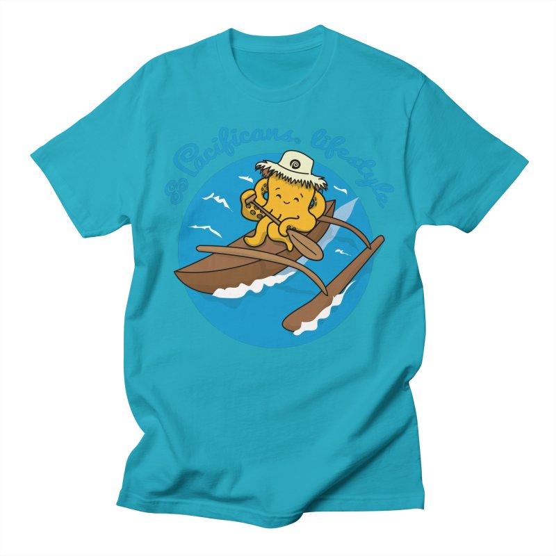 Heke va'a Women's Regular Unisex T-Shirt by Pacificans' Artist Shop
