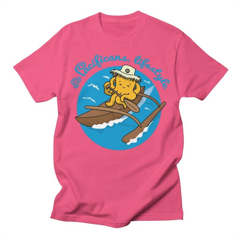Heke va'a Women's Unisex T-Shirt by Pacificans' Artist Shop