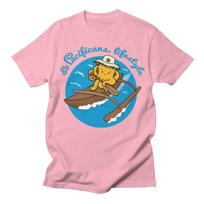 Heke va'a Men's T-Shirt by Pacificans' Artist Shop