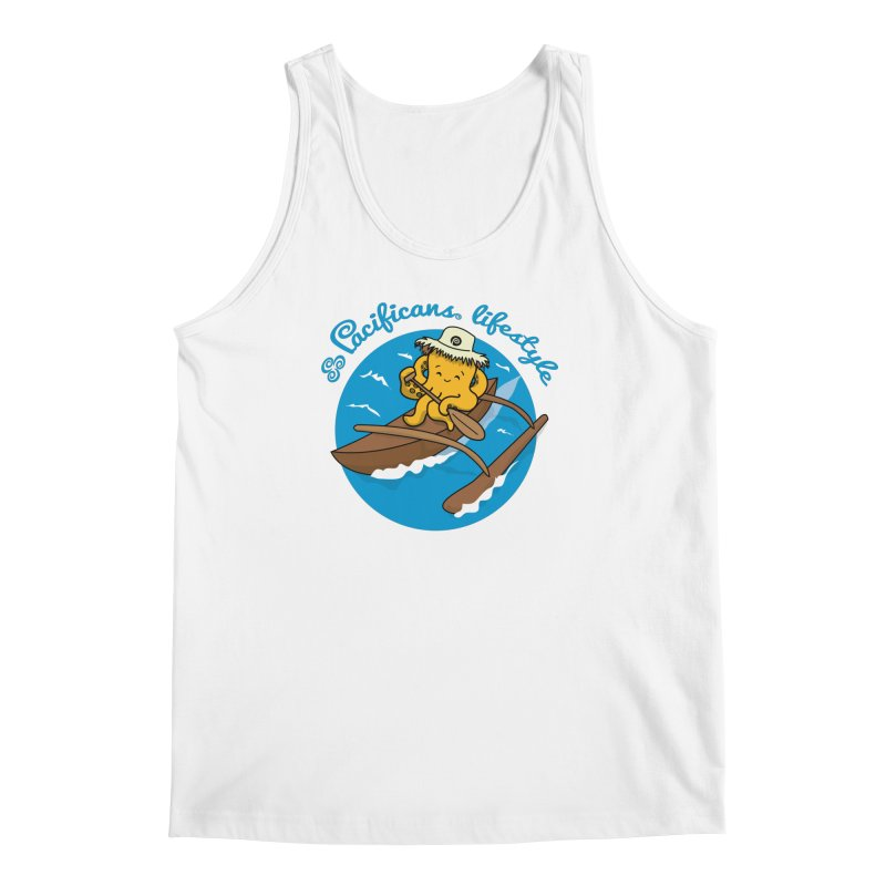 Heke va'a Men's Tank by Pacificans' Artist Shop