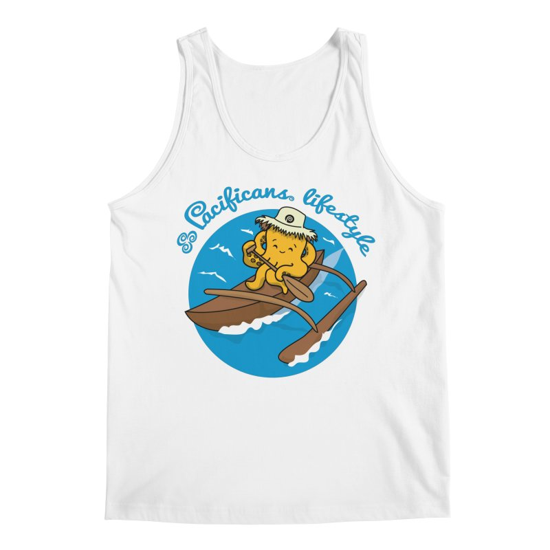 Heke va'a Men's Regular Tank by Pacificans' Artist Shop