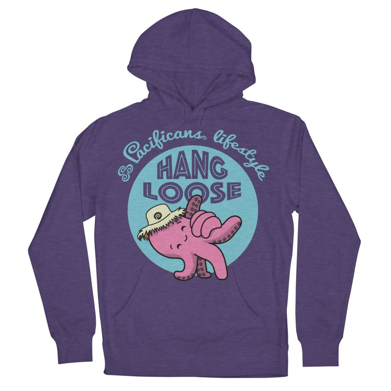Heke Hang Loose Men's Pullover Hoody by Pacificans' Artist Shop