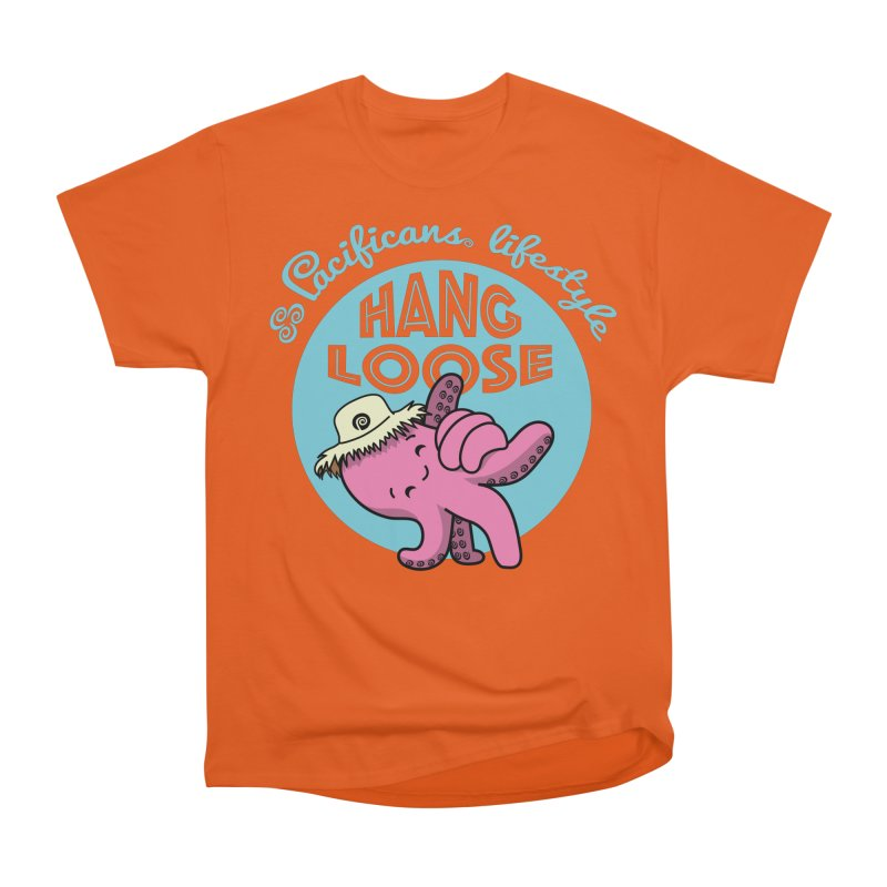 Heke Hang Loose Men's Heavyweight T-Shirt by Pacificans' Artist Shop