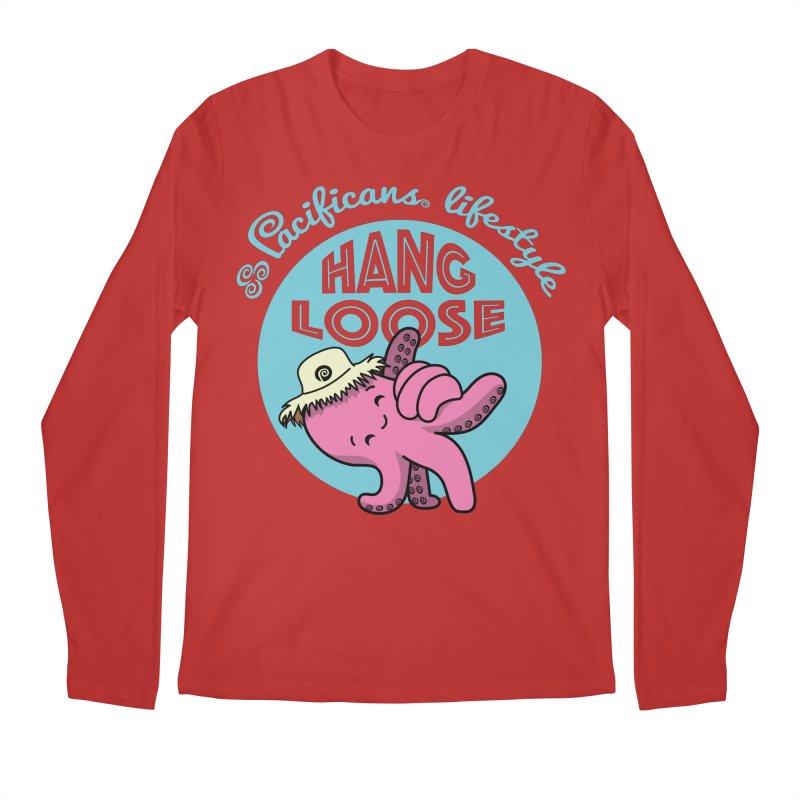 Heke Hang Loose Men's Regular Longsleeve T-Shirt by Pacificans' Artist Shop