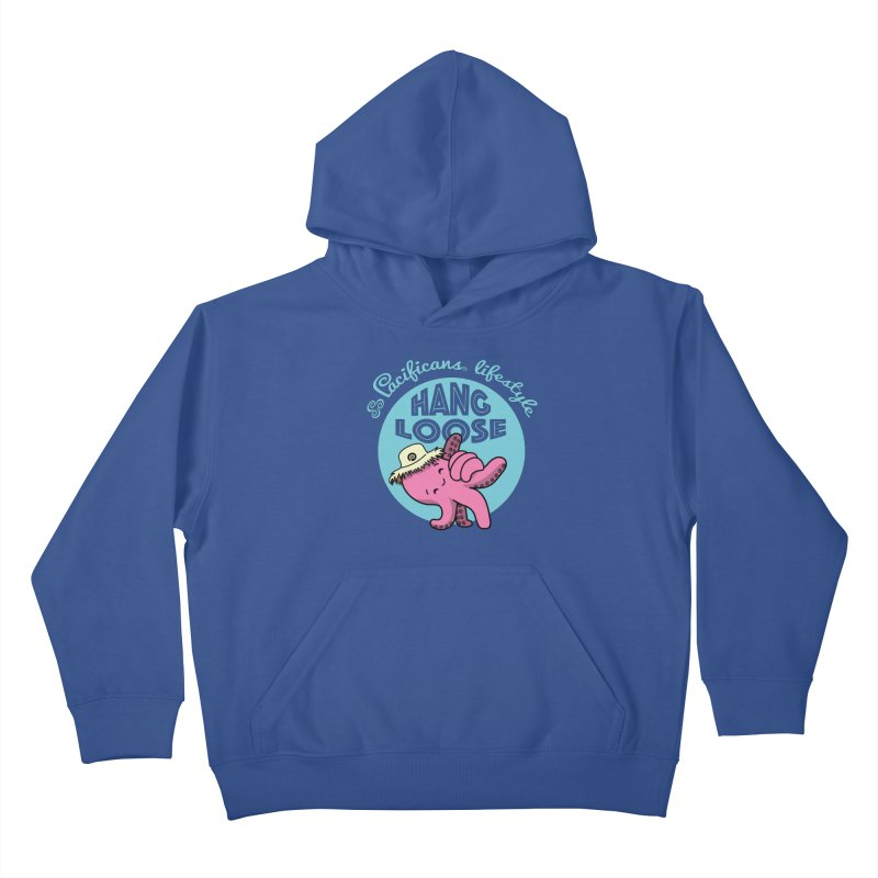 Heke Hang Loose Kids Pullover Hoody by Pacificans' Artist Shop