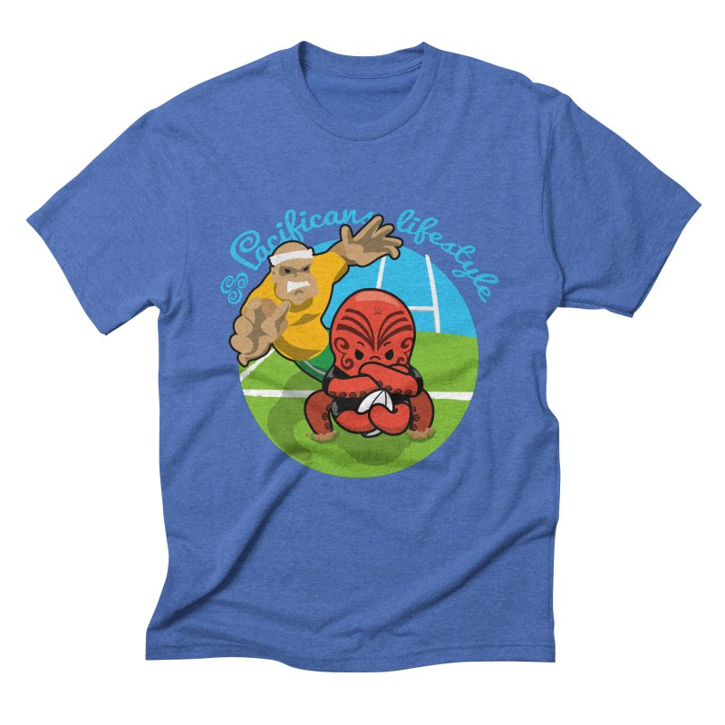 Heke Black Men's T-Shirt by Pacificans' Artist Shop