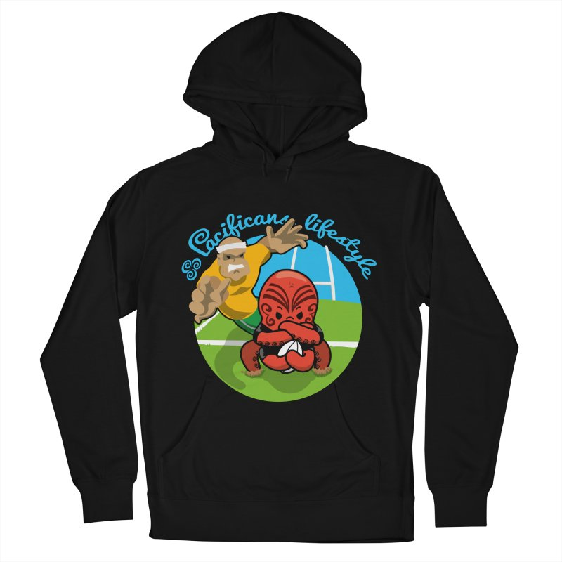 Heke Black Women's Pullover Hoody by Pacificans' Artist Shop