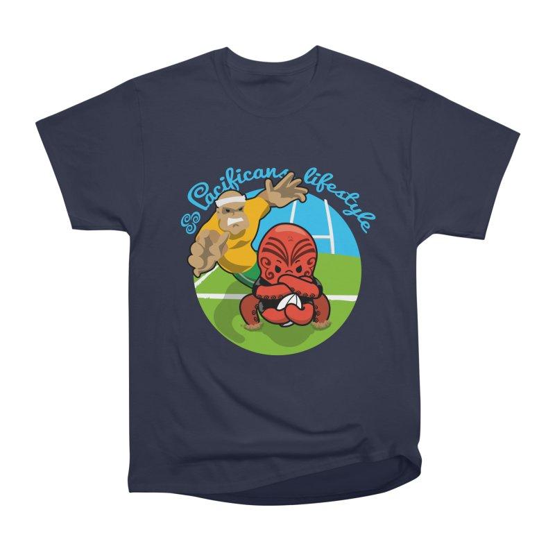 Heke Black Men's Classic T-Shirt by Pacificans' Artist Shop