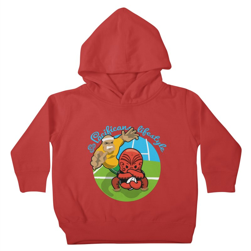 Heke Black Kids Toddler Pullover Hoody by Pacificans' Artist Shop