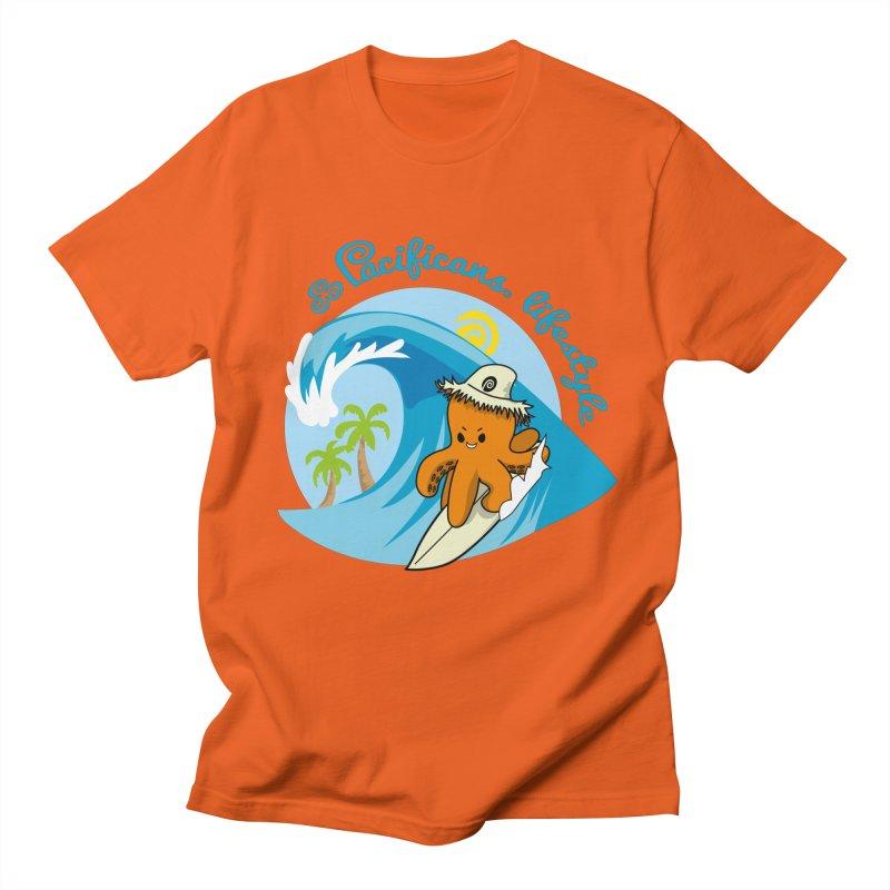 Heke Surfin' Women's T-Shirt by Pacificans' Artist Shop