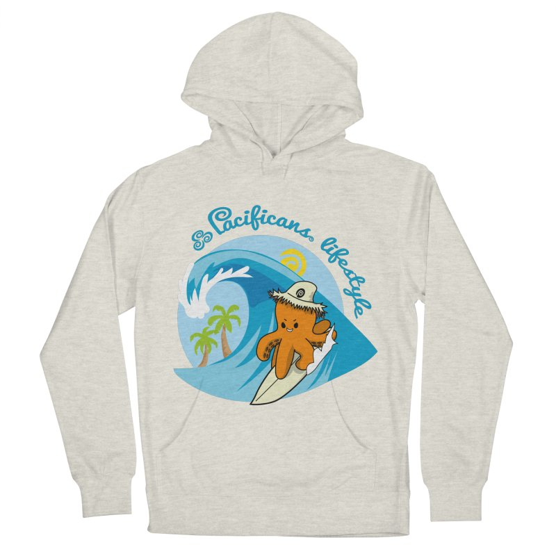 Heke Surfin' Women's French Terry Pullover Hoody by Pacificans' Artist Shop