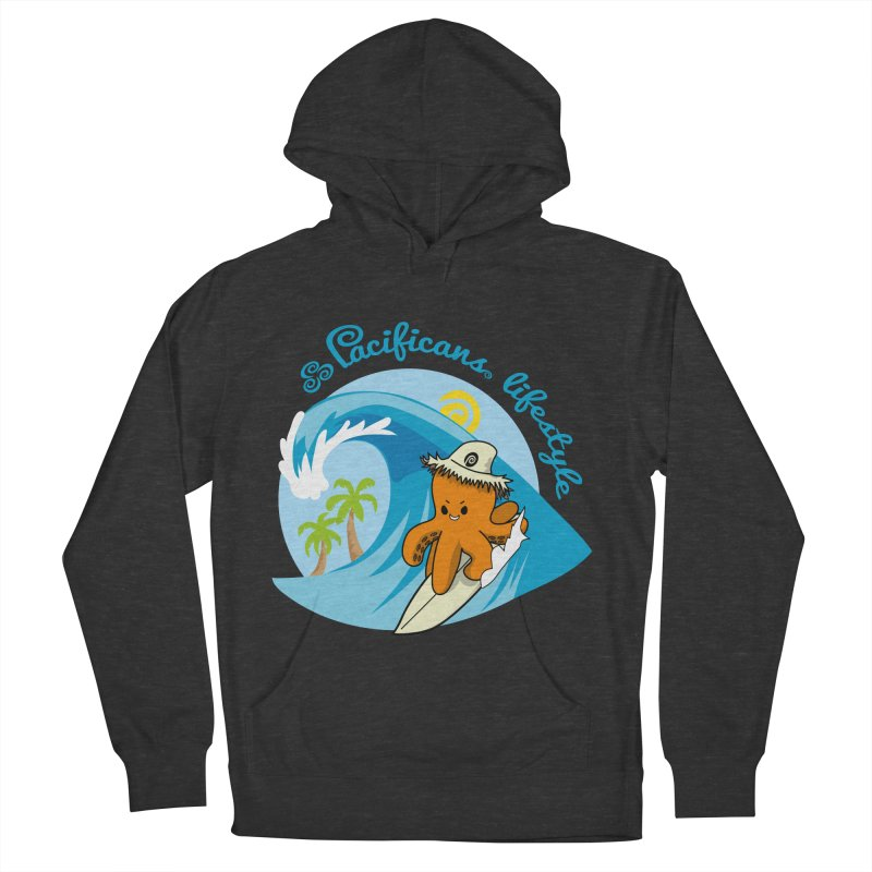 Heke Surfin' Men's French Terry Pullover Hoody by Pacificans' Artist Shop