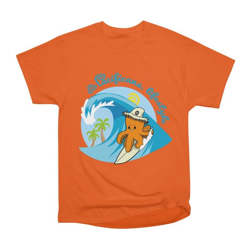 Heke Surfin' Women's Classic Unisex T-Shirt by Pacificans' Artist Shop