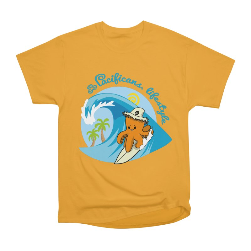 Heke Surfin' Women's Classic Unisex T-Shirt by Pacificans' Artist Shop