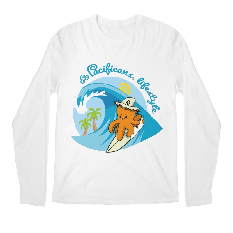 Heke Surfin' Men's Regular Longsleeve T-Shirt by Pacificans' Artist Shop