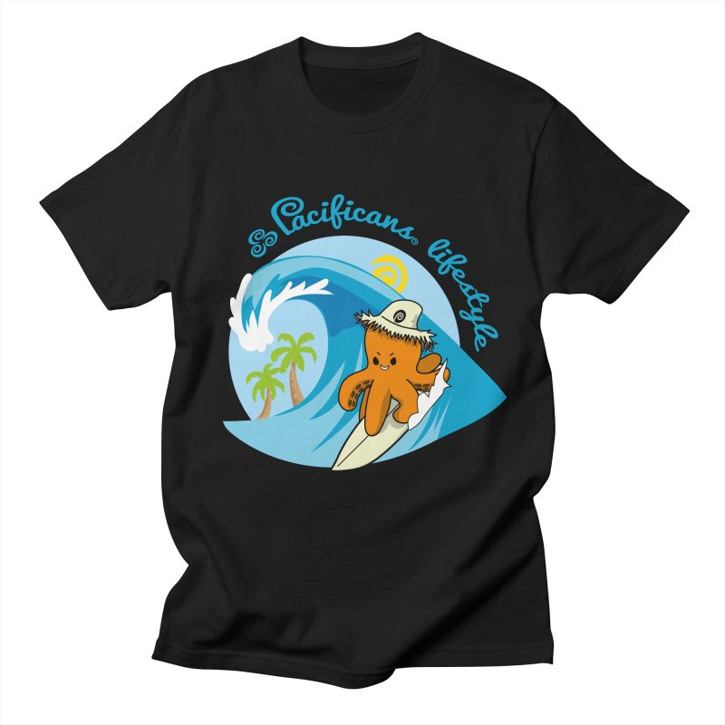 Heke Surfin' Men's Regular T-Shirt by Pacificans' Artist Shop