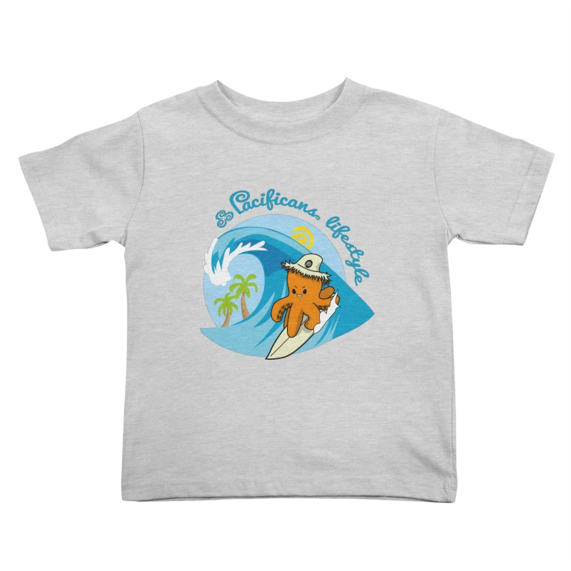 Heke Surfin' Kids Toddler T-Shirt by Pacificans' Artist Shop