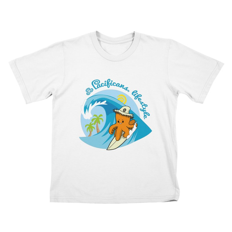 Heke Surfin' Kids T-Shirt by Pacificans' Artist Shop