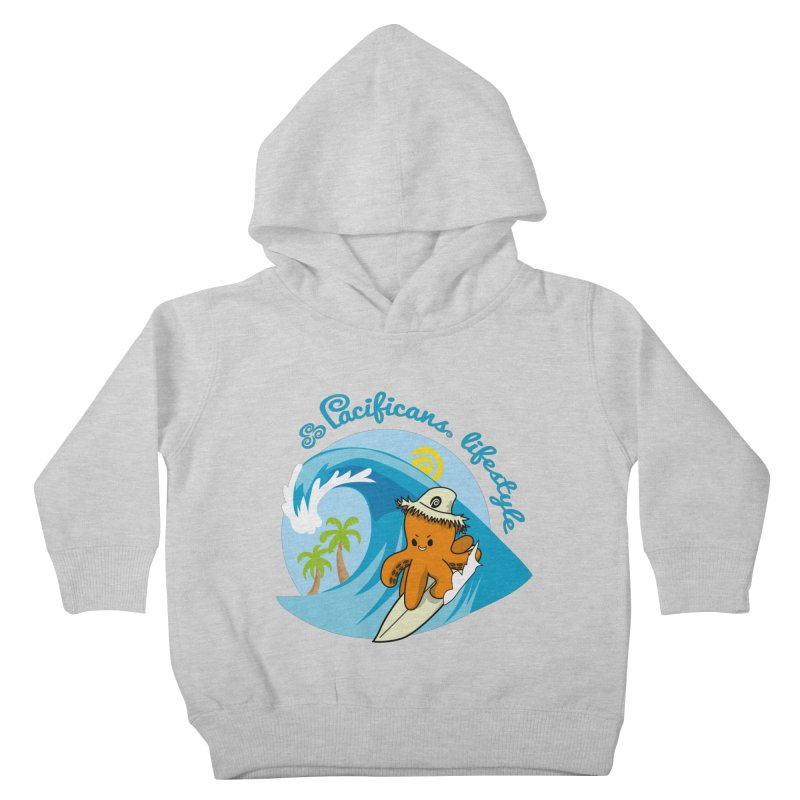 Heke Surfin' Kids Toddler Pullover Hoody by Pacificans' Artist Shop