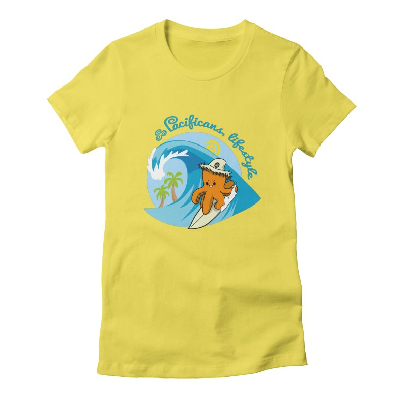 Heke Surfin' Women's T-Shirt by Pacificans' Artist Shop