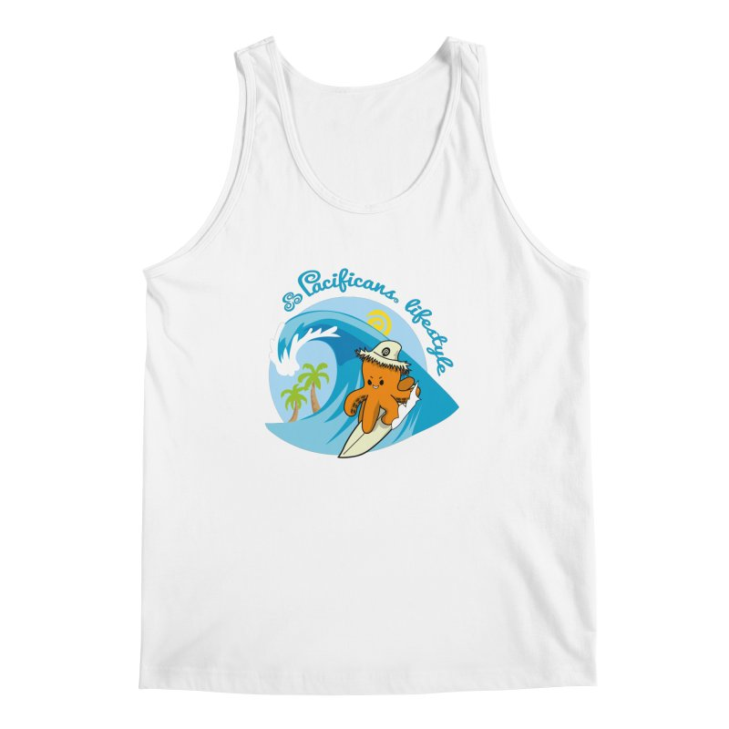 Heke Surfin' Men's Tank by Pacificans' Artist Shop