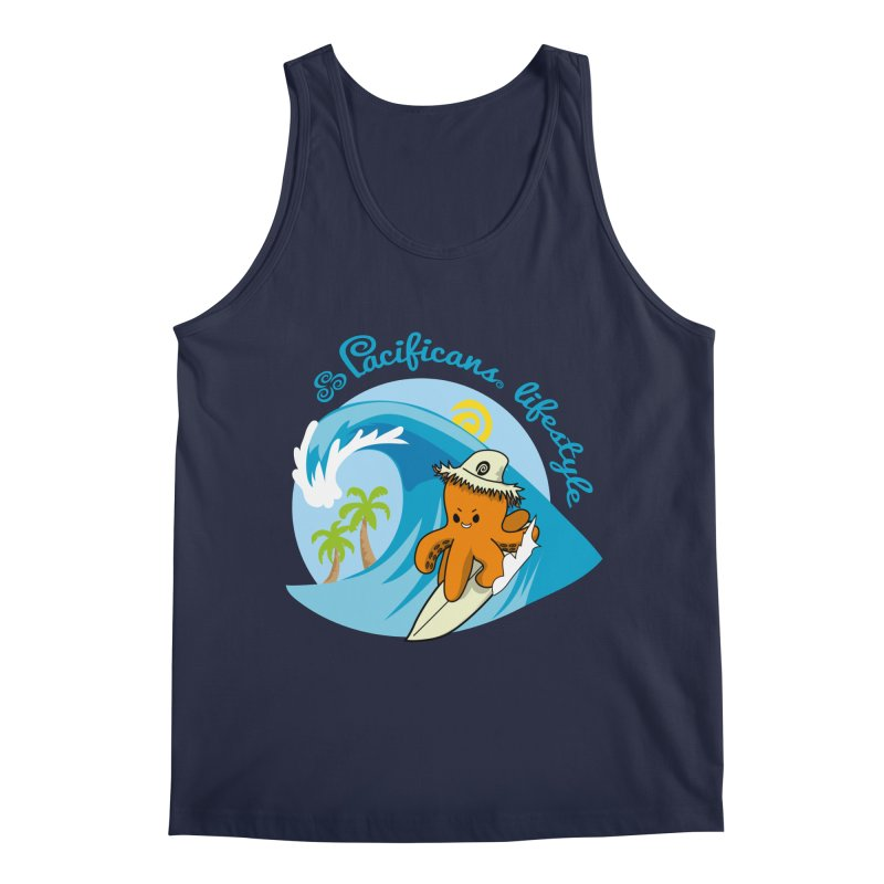 Heke Surfin' Men's Regular Tank by Pacificans' Artist Shop