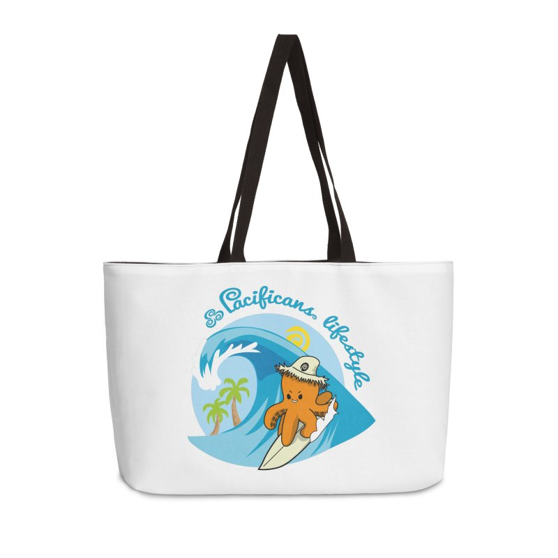 Heke Surfin' Accessories Weekender Bag Bag by Pacificans' Artist Shop