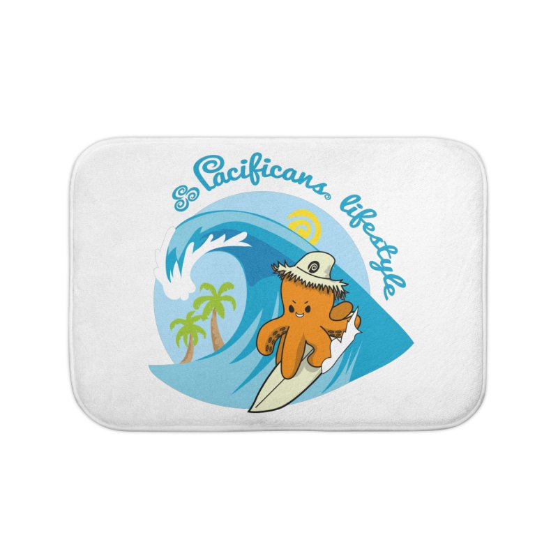 Heke Surfin' Home Bath Mat by Pacificans' Artist Shop