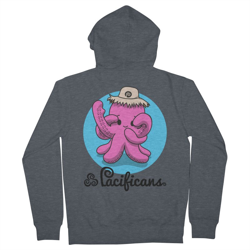 Heke Kawaii Men's French Terry Zip-Up Hoody by Pacificans' Artist Shop