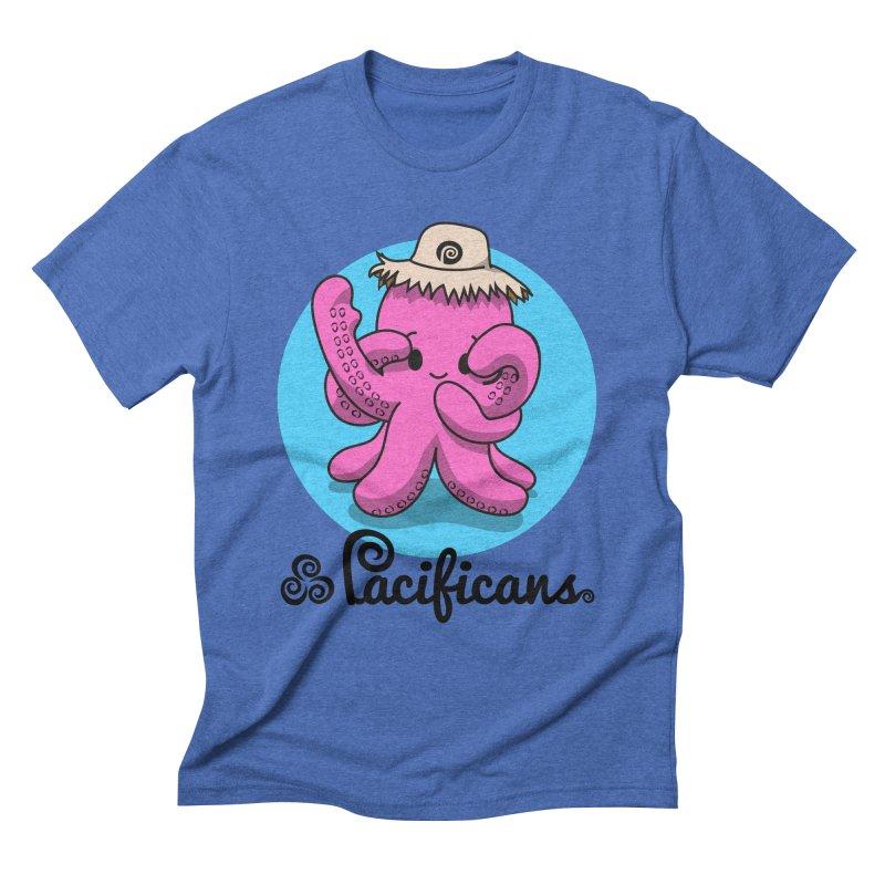 Heke Kawaii Men's Triblend T-Shirt by Pacificans' Artist Shop