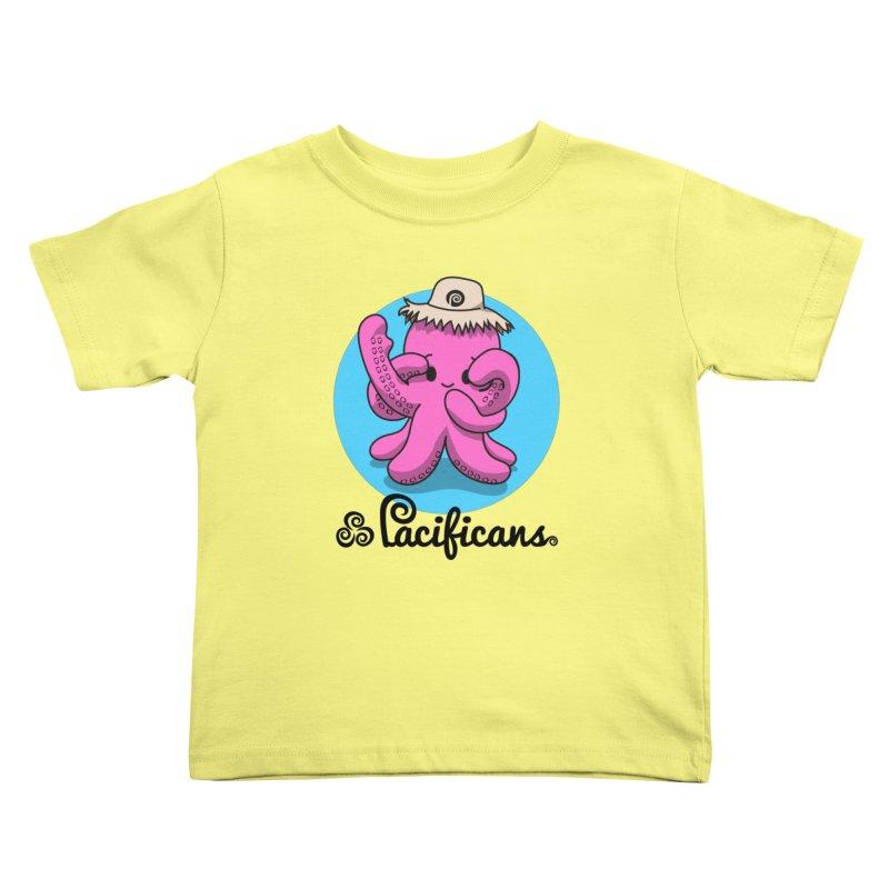Heke Kawaii Kids Toddler T-Shirt by Pacificans' Artist Shop