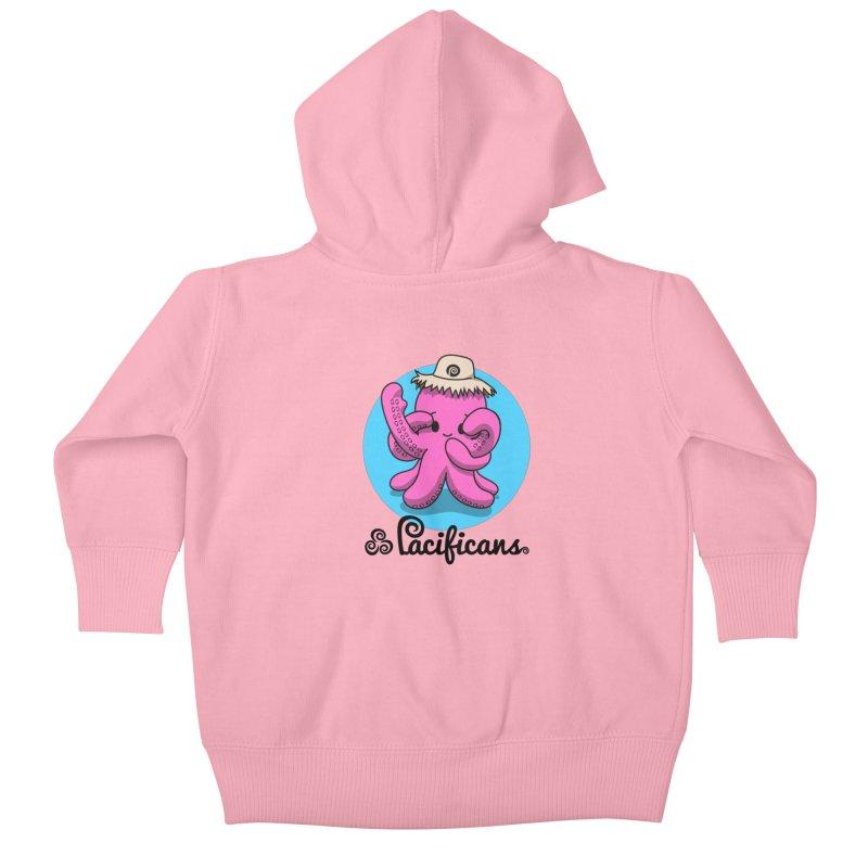Heke Kawaii Kids Baby Zip-Up Hoody by Pacificans' Artist Shop