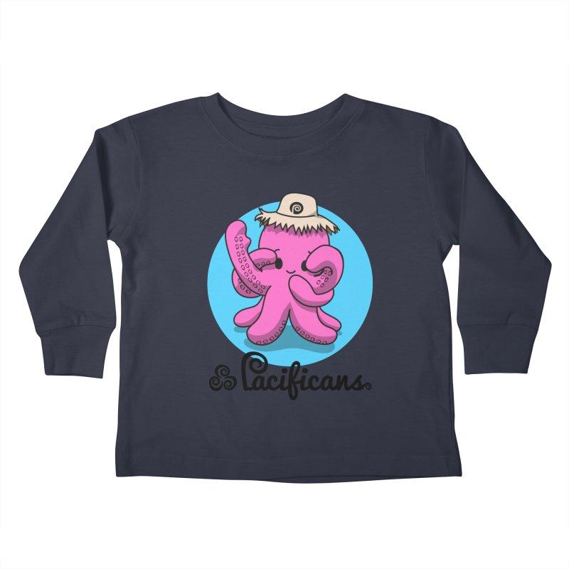 Heke Kawaii Kids Toddler Longsleeve T-Shirt by Pacificans' Artist Shop