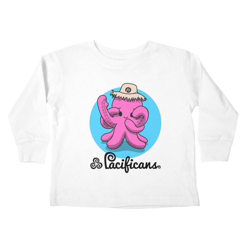 Heke Kawaii Kids Toddler Longsleeve T-Shirt by Pacificans' Artist Shop