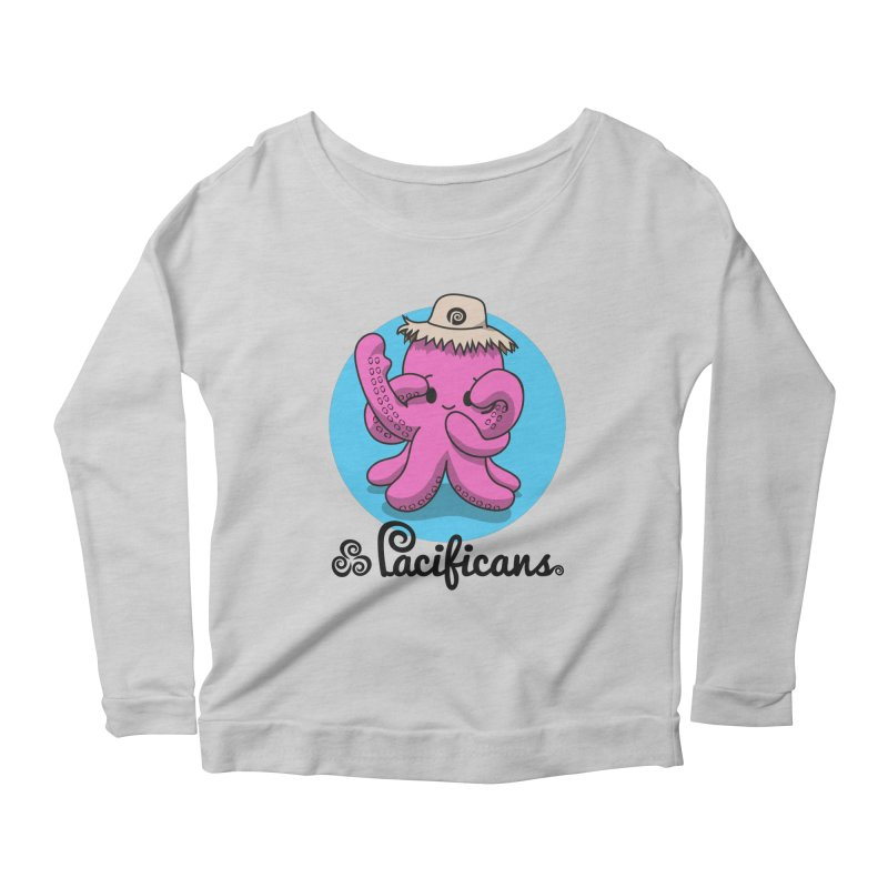 Heke Kawaii Women's Longsleeve Scoopneck  by Pacificans' Artist Shop