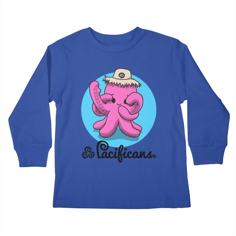 Heke Kawaii Kids Longsleeve T-Shirt by Pacificans' Artist Shop
