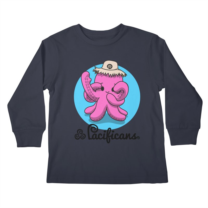 Heke Kawaii Kids Longsleeve T-Shirt by Pacificans' Artist Shop