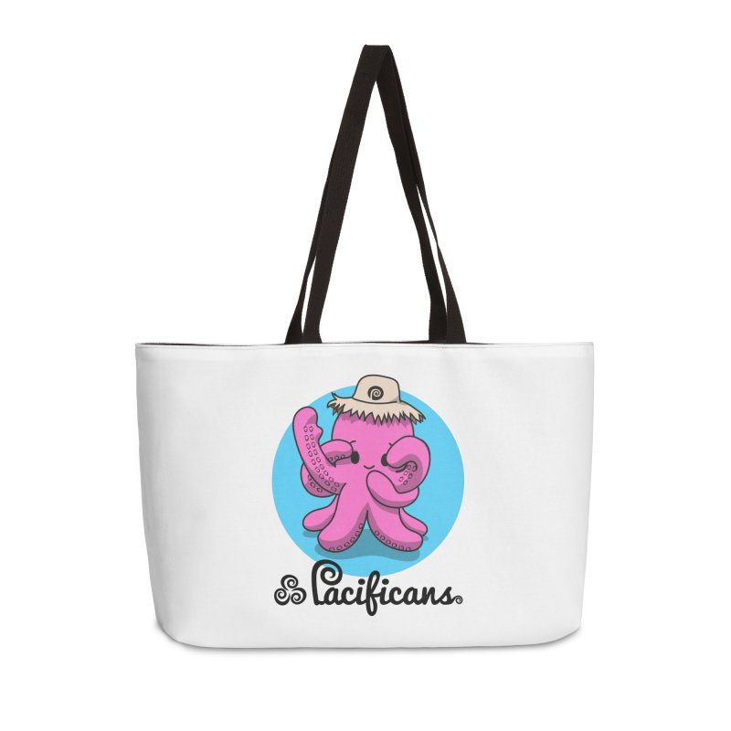 Heke Kawaii Accessories Weekender Bag Bag by Pacificans' Artist Shop