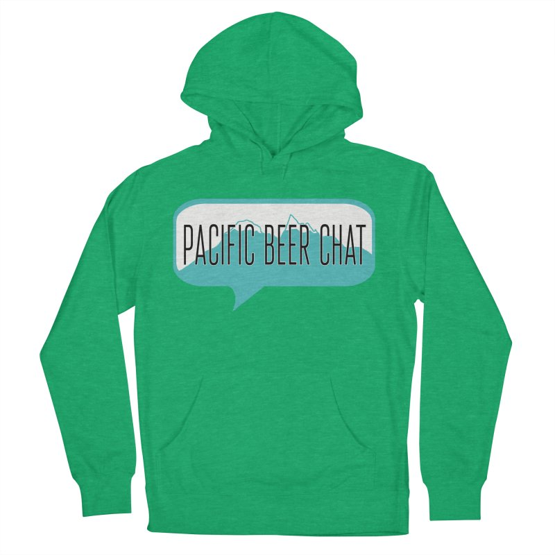 Pacific Beer Chat Logo Women's French Terry Pullover Hoody by Pacific Beer Chat Shop